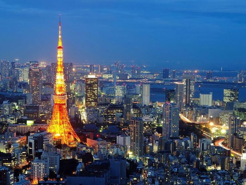 Tokyo - Thành phố lớn tuyệt vời nhất thế giới